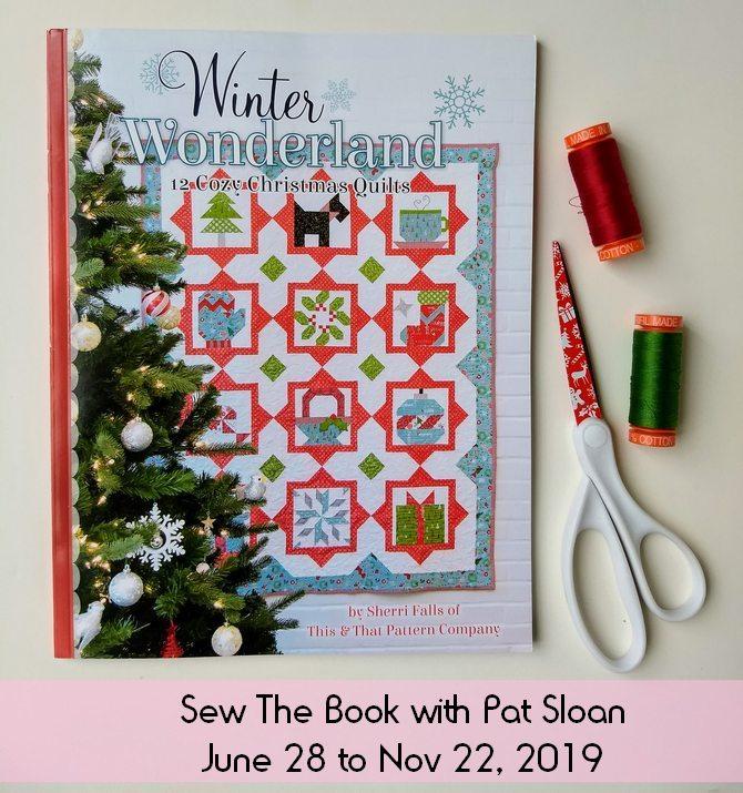 Pat sloan winter wonderland sew the book