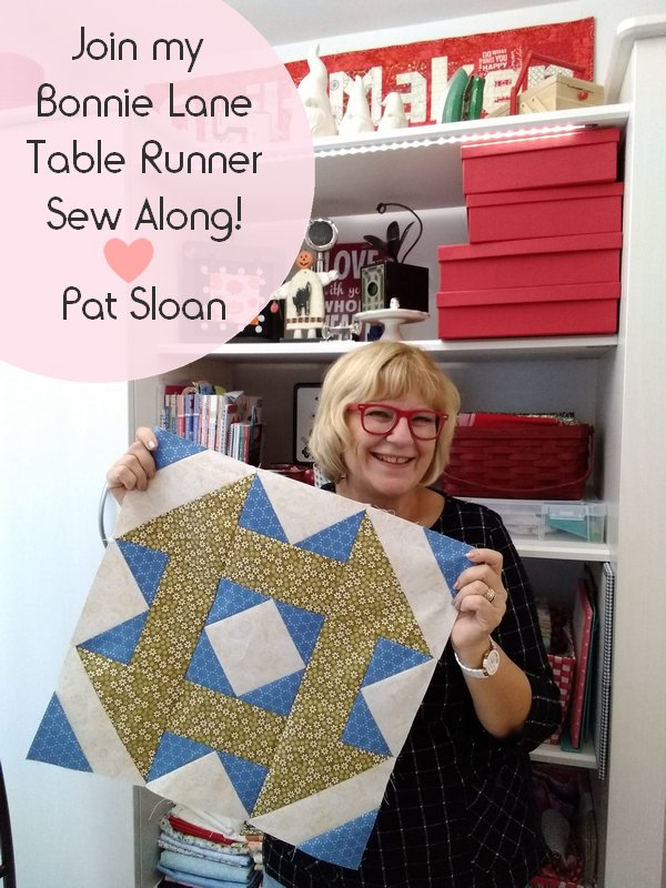 Pat Sloan table runner pic banner