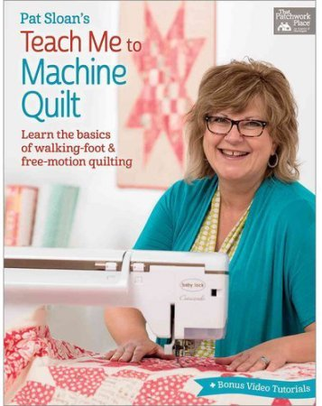 Pat sloan book machine quilting cover