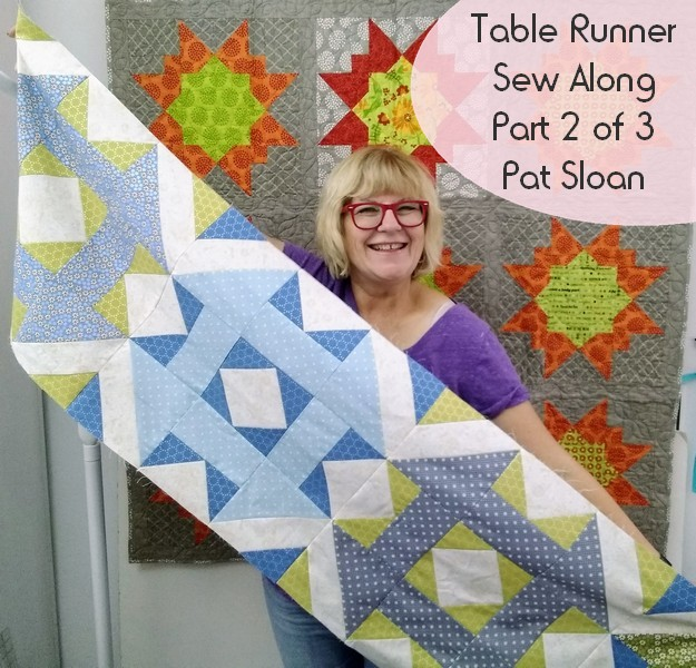 Pat Sloan table runner part 2 pic 8