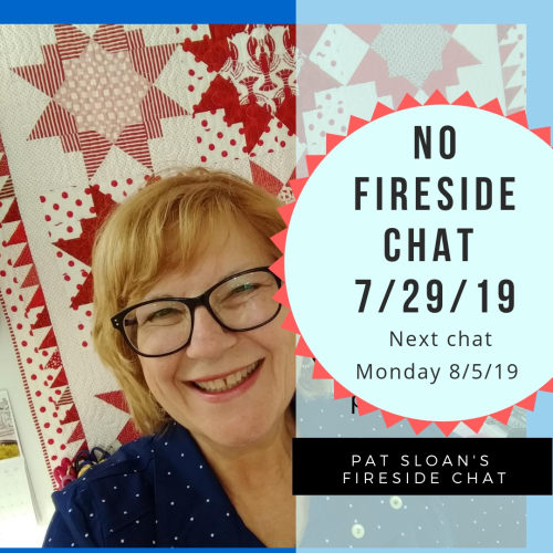 NO Firde side chat pat sloan