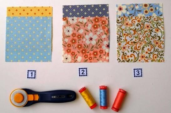 Pat sloan glow row 3 fabrics