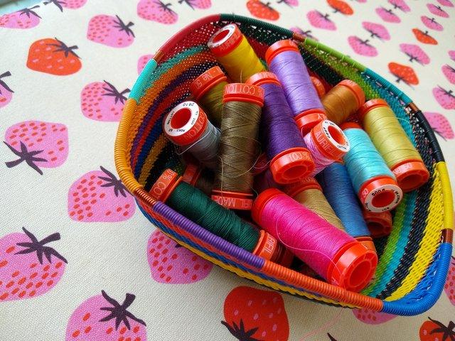 Pat Sloan 2019 basket of thread