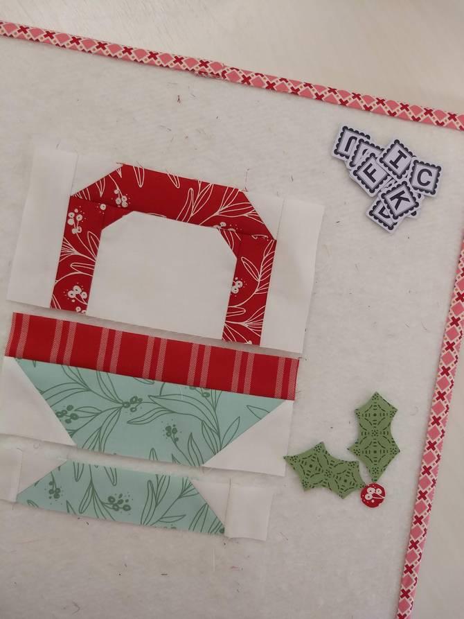 Pat sloan sleigh bell sampler block 8 pic 2