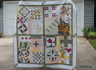 Pat Sloan Flower Bouquet quilted