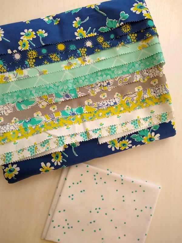 Pat Sloan 2020 Aurifil DOM fabric