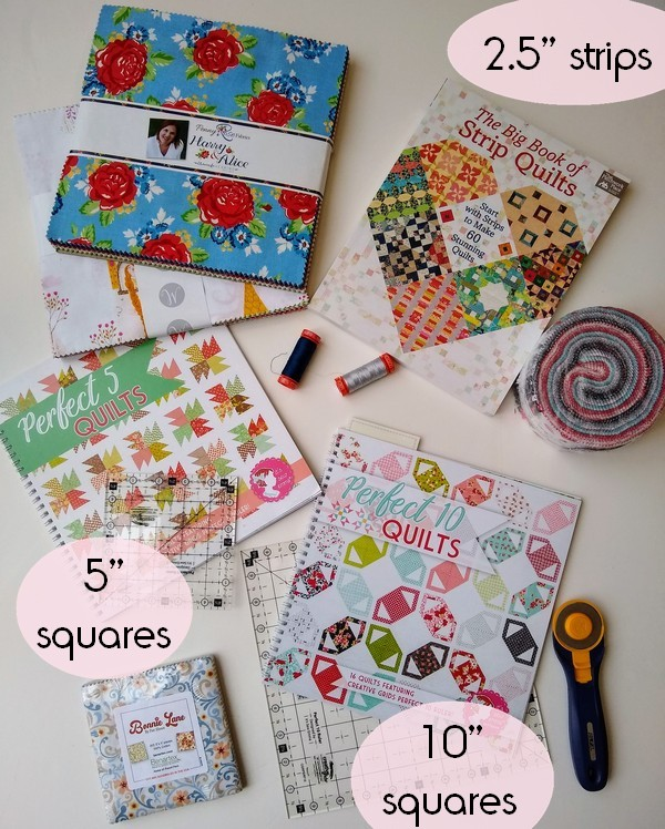 Pat sloan scrap quilt sizes v2