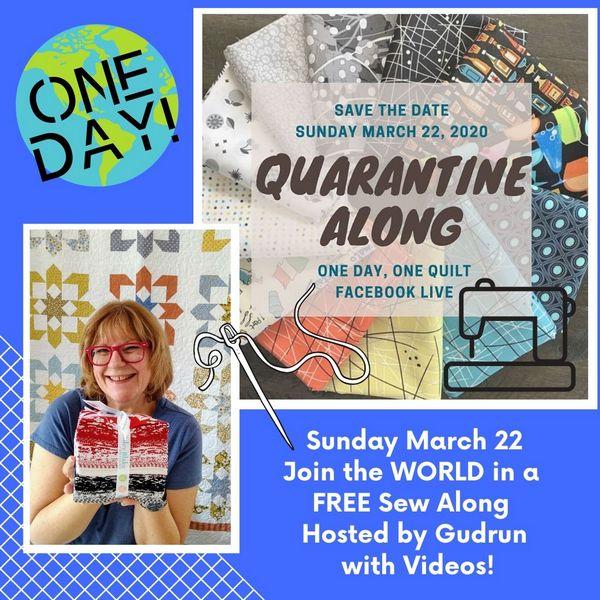 Pat Sloan Quarentine quilt along