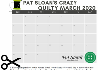 Pat Sloan March calendar
