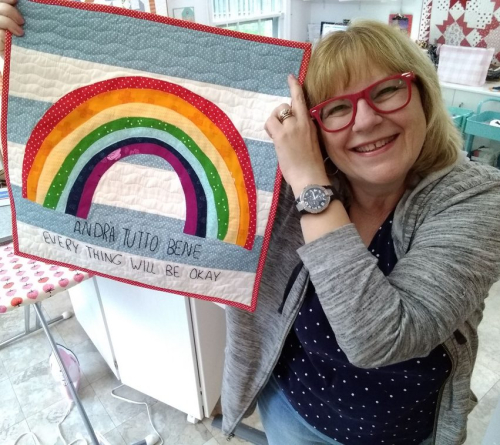 Pat Sloan Andra Tutto Bene quilt