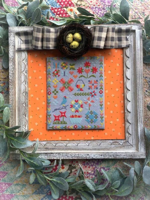 Cross stitch sew along