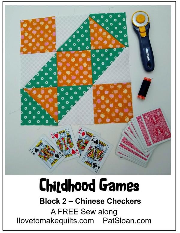Pat sloan block 2 childhood games banner