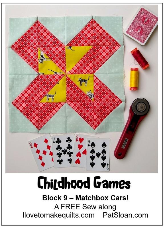 Pat Sloan Block 9 Childhood Games