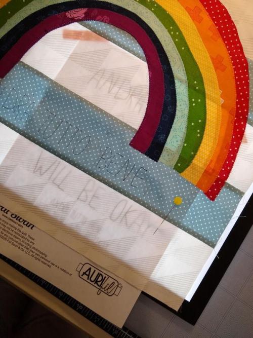 Pat Sloan Rainbow trace 10