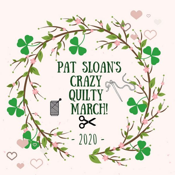 1 Pat Sloan's Crazy Quilty March