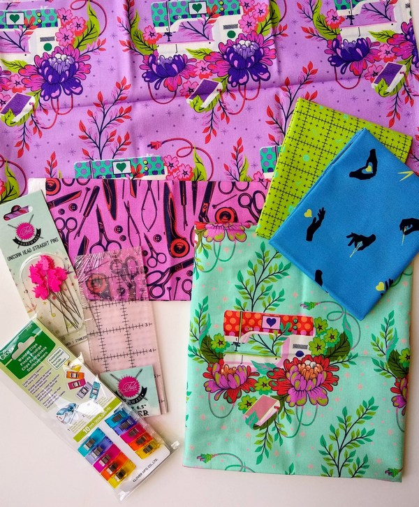 Pat sloan sew sampler box