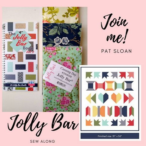 Pat sloan jolly bar sew along