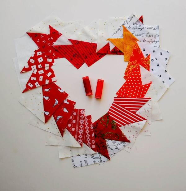 Pat Sloan Rainbow heart