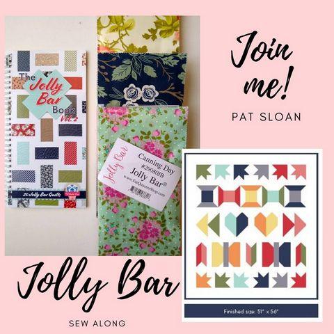 Pat sloan jolly bar sew along