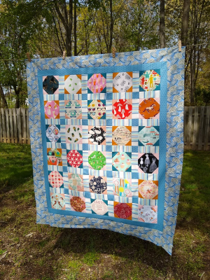 Pat Sloan Stay at Home quilt done 3