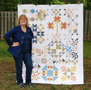 Pat sloan 2020 charity quilt 2