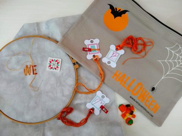 Pat sloan halloween stitching