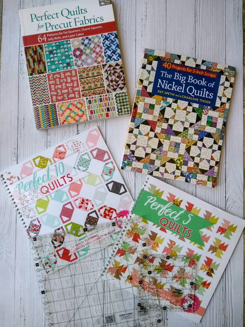 Pat sloan scrap busting patterns