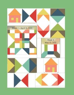 Pat Sloan sampler layout 1
