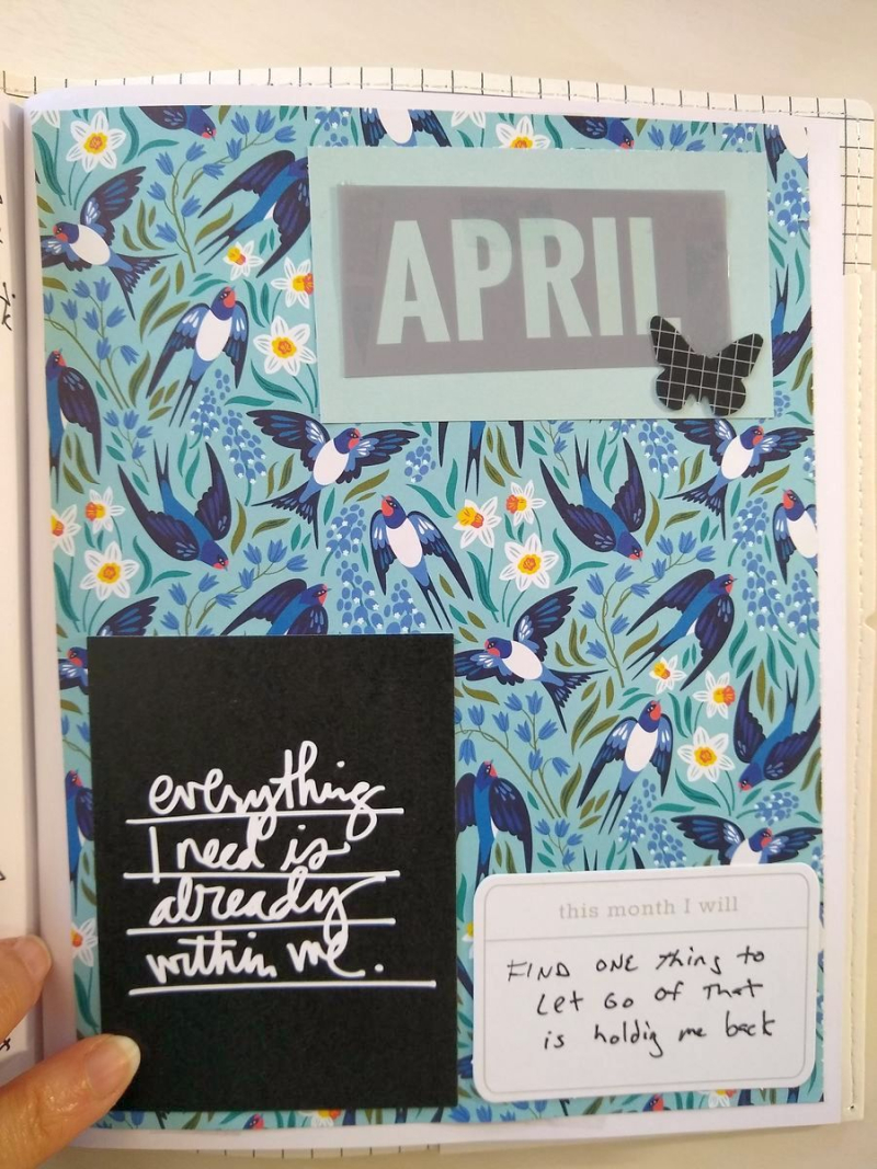 Pat sloan word of the year april