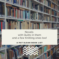 Pat sloan novels with quilt