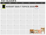 Multicoloured Pastel Flowers Simple Calendar (9)
