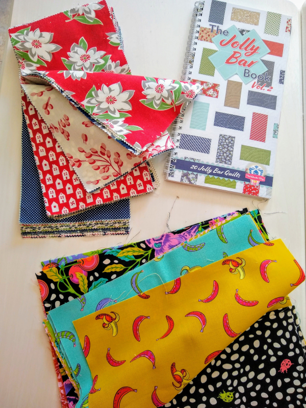Pat sloan pre jolly bar 2 sew along quilt