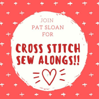 Pat Sloan Cross Stitch Sew Alongs sq