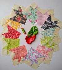 Pat Sloan Jolly Bar sew along week 1