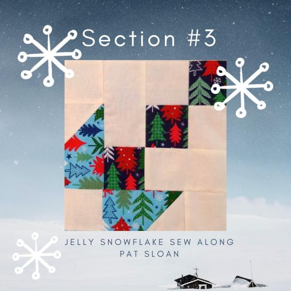 Pat Sloan jelly snowflake 3