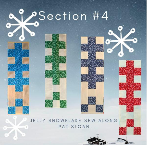 Pat sloan jelly snowflake 4