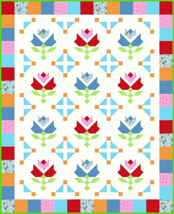 Sm Tulip Fields - Morrison Park - 65x80
