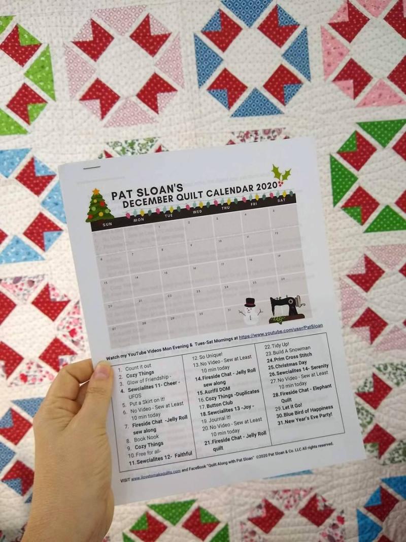 Pat sloan dec calendar 3