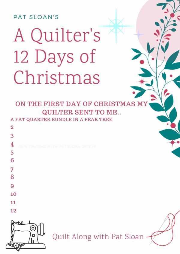 Pat sloan 12 days of christmas 2