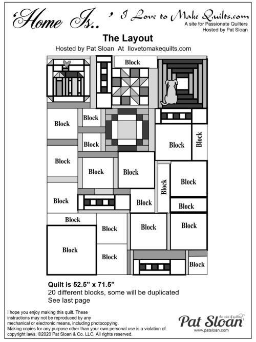 0 Pat Sloan Home Is Layout Pattern image