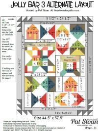 Pat sloan jolly bar 3 alternate layout pic