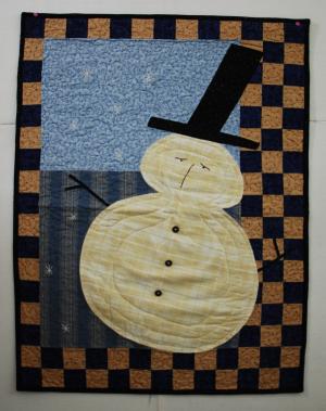 Seymour snowman single pattern