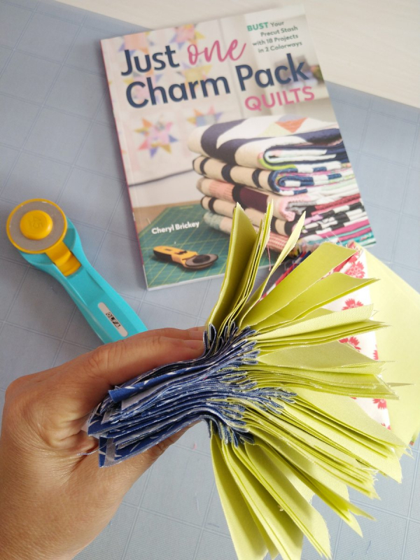 Pat sloan one charm pack 4patch