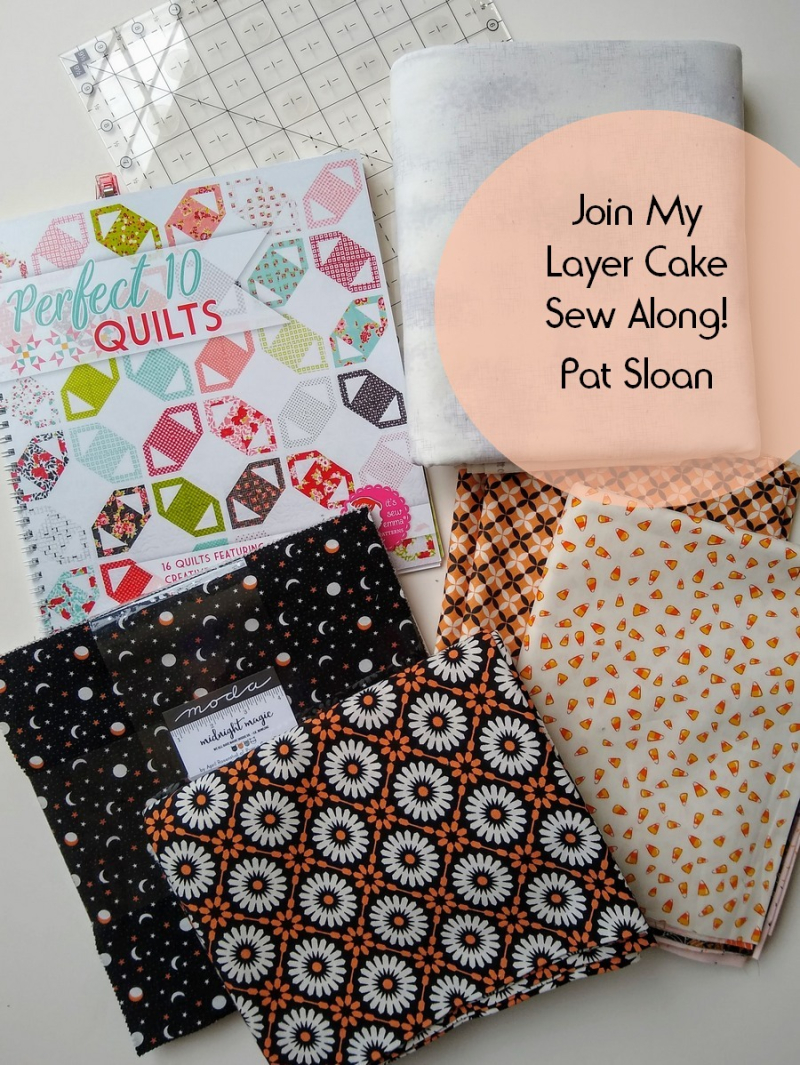 Pat sloan layer cake sew along button