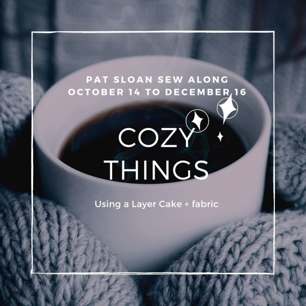 Pat Sloan Cozy things button