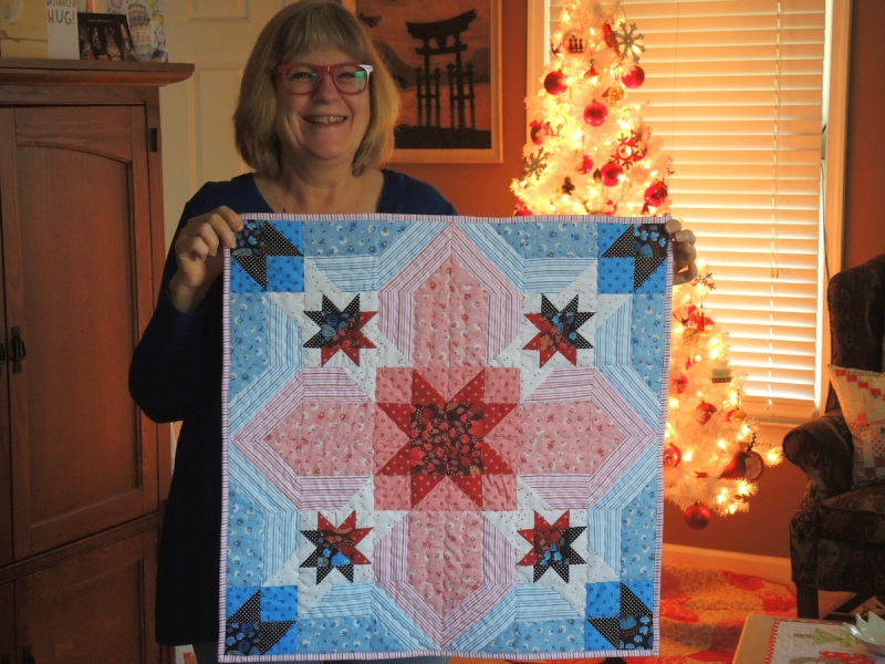 Pat tree quilt