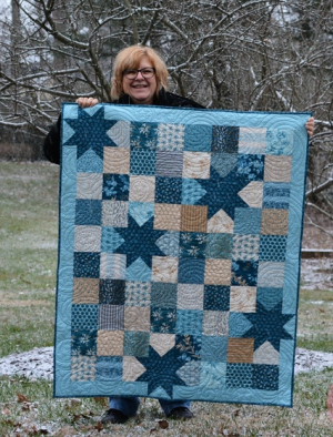 Pat sloan blue oh my stars in blue outsidesm