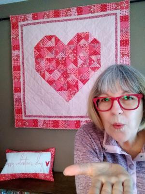 Pat sloan valentine heart