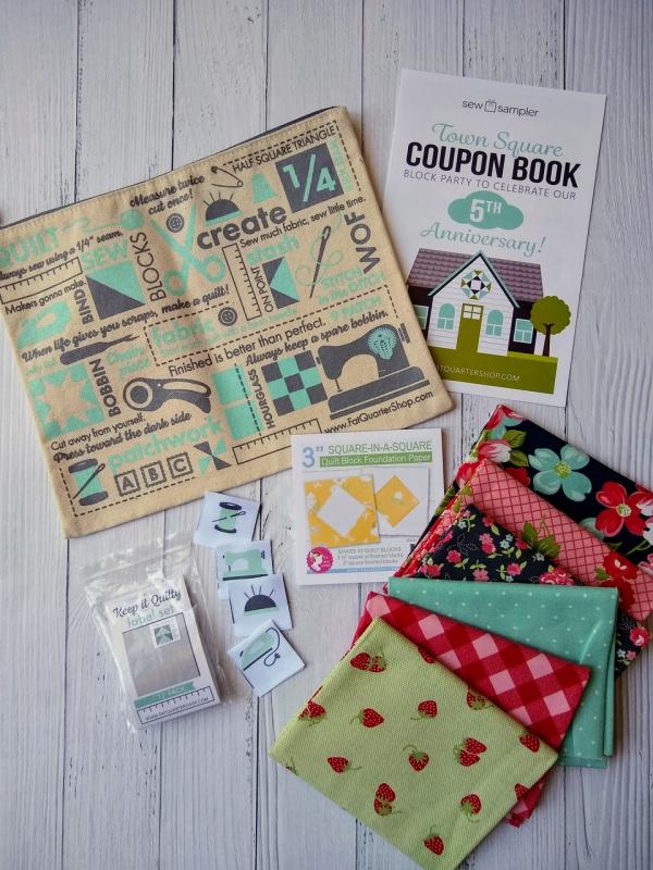 Sew sampler april box