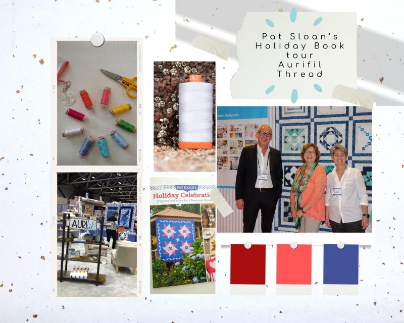 0 11 pat sloan pat sloan Aurifil book tour day button